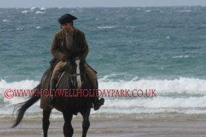 poldark 16 300x200 - Poldark at Holywell Bay