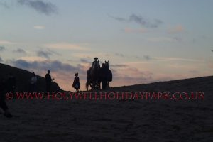 poldark 17 300x200 - Poldark at Holywell Bay