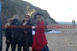 poldark 5 300x200 - Poldark at Holywell Bay