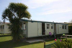 caravan holywell bay