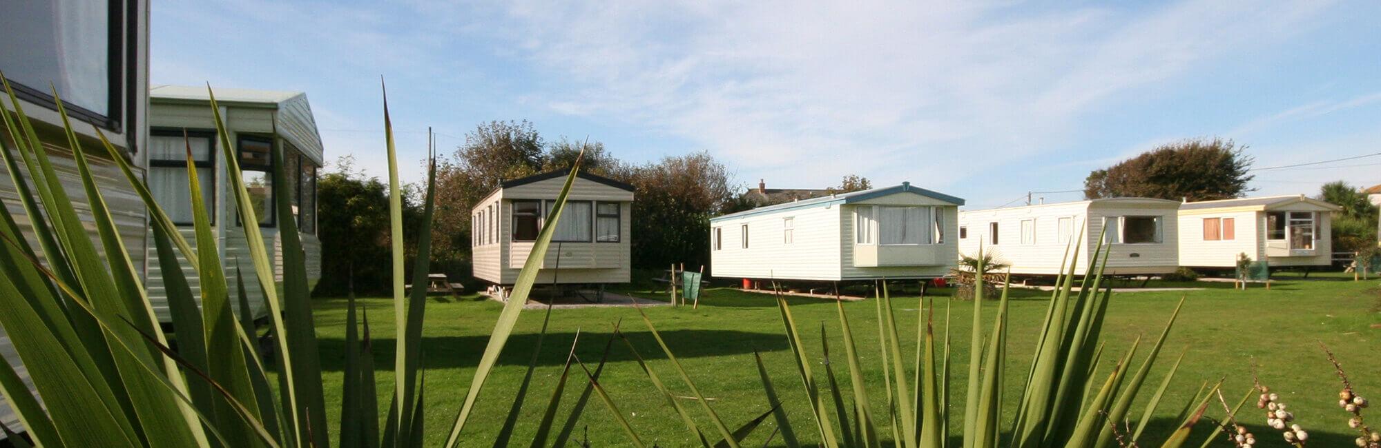 caravans Holywell Bay