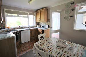 Langarrow kitchen dinner. Holywell Bay. Newquay. Cornwal